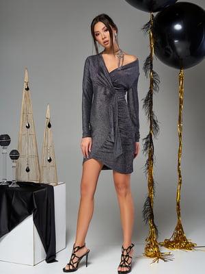 Платье серое | 5707108