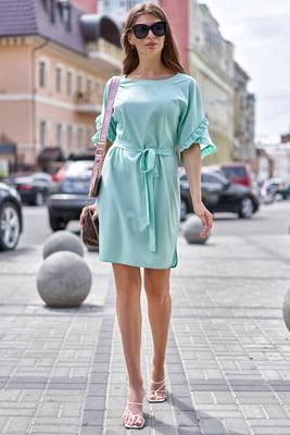 Платье бирюзового цвета | 5707132