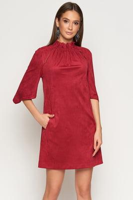 Сукня бордова | 5707153