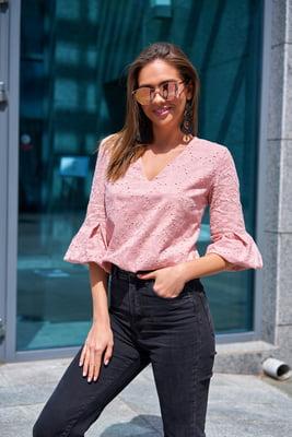 Блуза пудрового цвета | 5707158