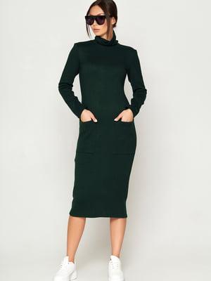 Сукня темно-зелена | 5707074
