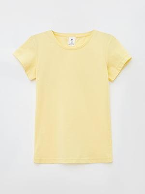 Футболка жовта | 5707315