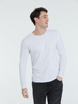 Лонгслів білий | 5686707