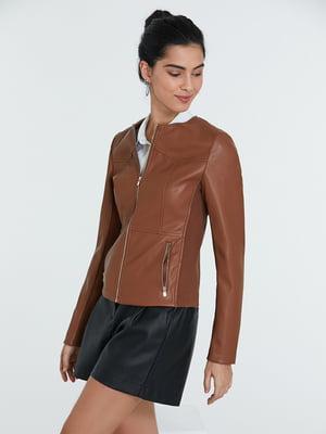 Куртка карамельного кольору | 5686731