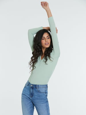 Пуловер зеленый | 5686760