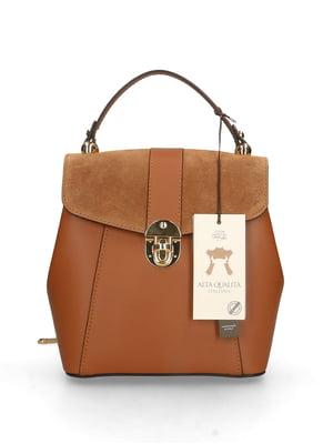 Сумка-рюкзак коньячного кольору   5705325