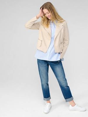 Куртка пудрового кольору | 5686096