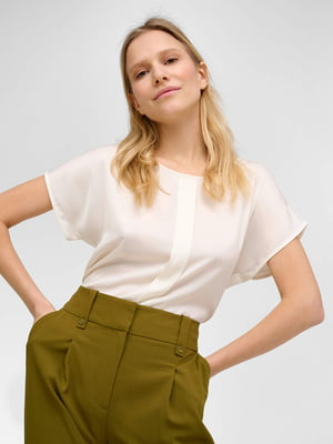 Блуза молочного цвета | 5707781