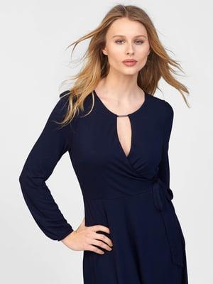 Платье синее | 5707833