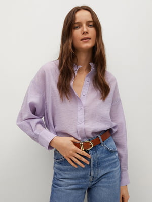 Рубашка сиреневого цвета | 5708027