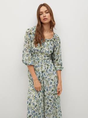 Сукня з квітковим принтом | 5708031