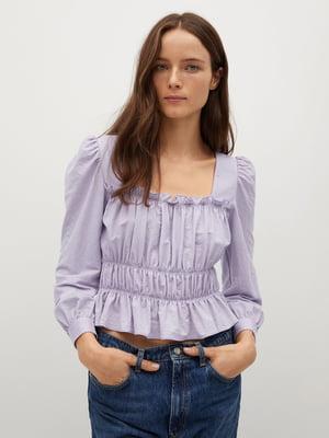 Блуза бузкового кольору | 5708040