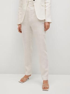Штани вершкового кольору | 5708051