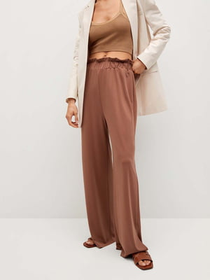 Штани коричневого кольору   5708142