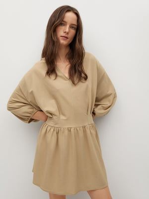Сукня пісочного кольору | 5708175