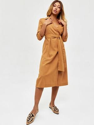 Платье коричневого цвета | 5708543