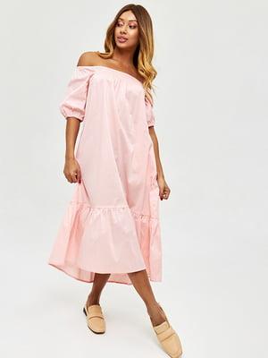 Платье цвета пудры   5708544