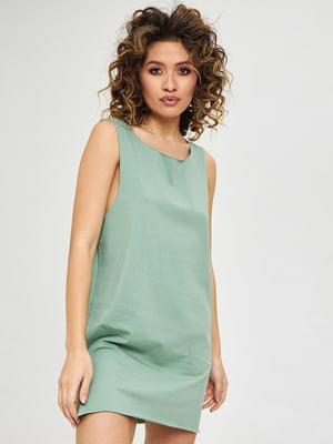 Платье оливкового цвета | 5708549
