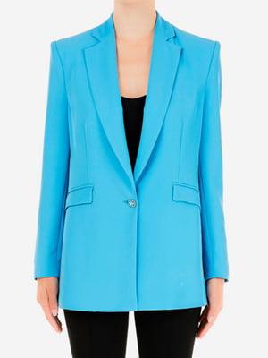 Жакет голубого цвета | 5663530