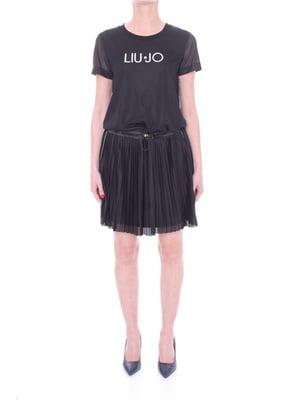 Сукня синя з логотипом | 5708600