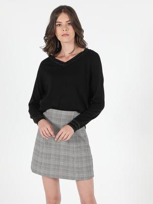 Пуловер чорний | 5709475