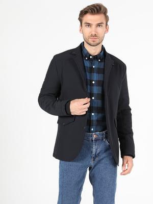 Куртка-пиджак синяя | 5709544