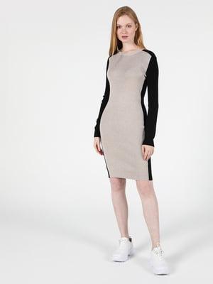 Платье двухцветное | 5709631