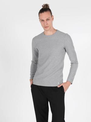 Лонгслив серый | 5709648