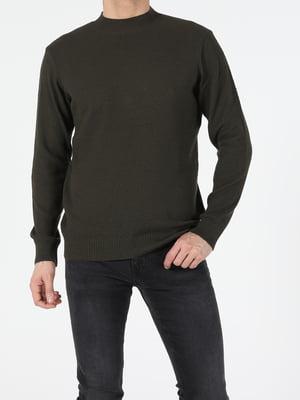 Джемпер кольору хакі   5709721