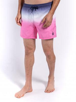 Шорты для плавания комбинированного цвета   5686786