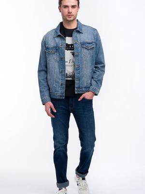 Куртка джинсовая синяя | 5710259