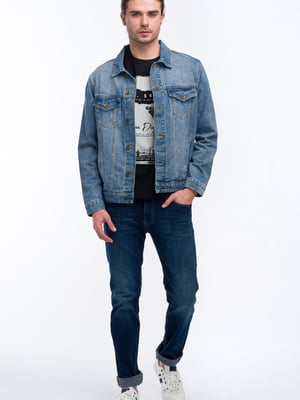 Куртка джинсова синя | 5710259