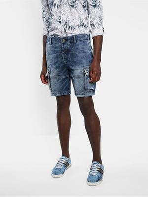 Шорти джинсові блакитного кольору | 5710336