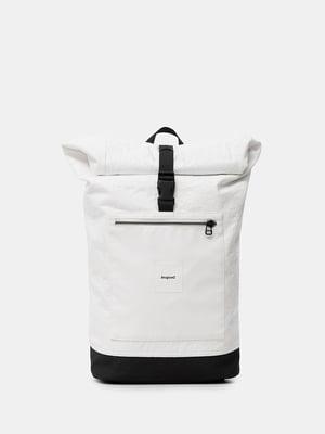 Рюкзак белый с логотипом | 5710338