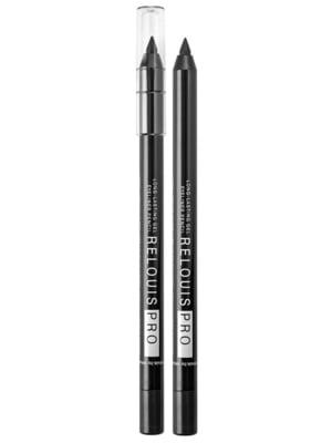 Олівець для очей стійкий гелевий Relouis Pro 01 чорний | 5633083