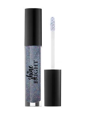 Блеск для губ Shine bright ультразеркальный, тон 009 sapphire | 5633100