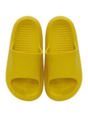 Шльопанці жовті | 5710087