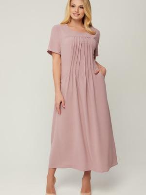 Сукня кольору пудри   5711120