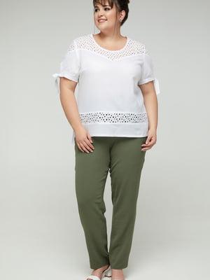 Блуза белая | 5711139