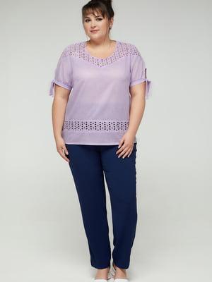 Блуза лавандового цвета | 5711140