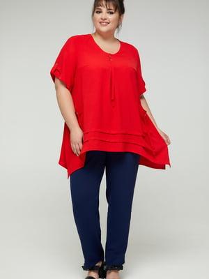 Блуза красная | 5711153