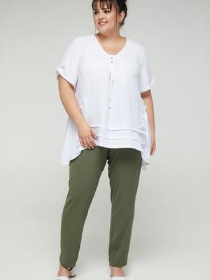 Блуза белая | 5711154