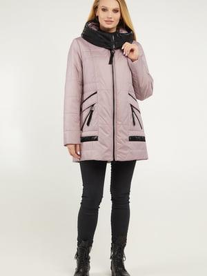 Куртка цвета дымчатой розы | 5711168