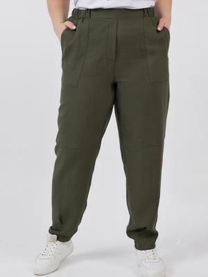 Штани кольору хакі | 5711191