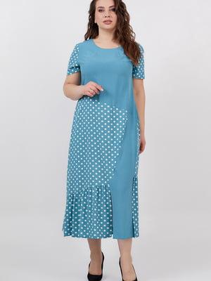 Сукня бірюзова | 5711203