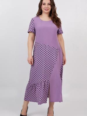 Платье сиреневое | 5711205