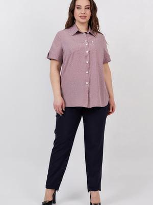 Рубашка цвета пудры | 5711221