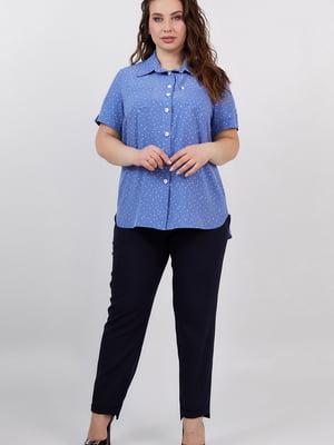 Рубашка синяя   5711222