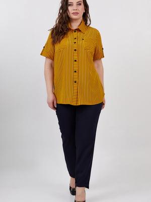Сорочка гірчичного кольору | 5711223