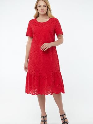 Платье красное   5711132